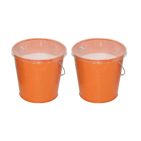 The Buzz Citronella Small Candle Bucket Pack Of 2
