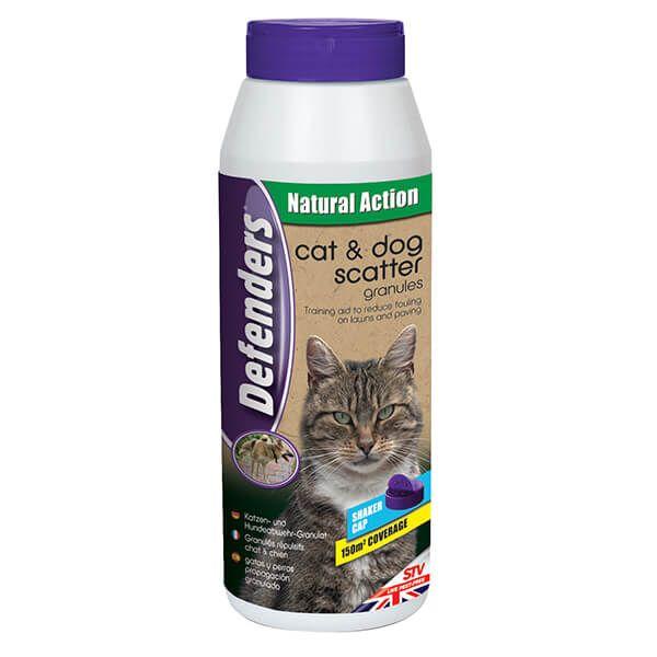 Defenders Cat & Dog Repellent Scatter Granules 450g