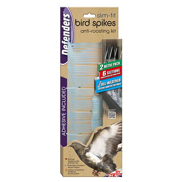 Defenders Slim Fit Bird Spikes 2 Metre Pack