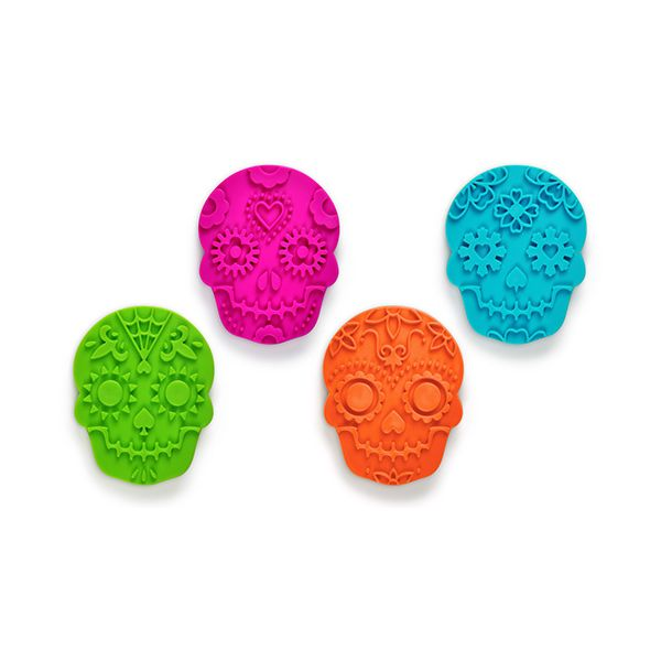Fred Sweet Spirits Skulls Set Of 4 Cookie Cutters