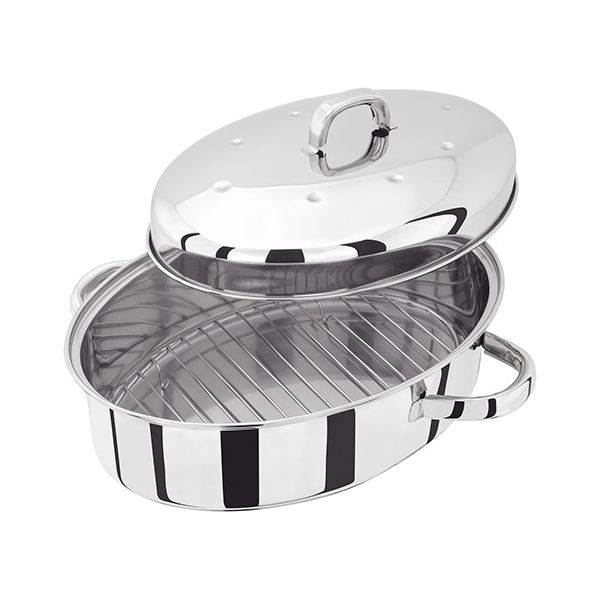 Judge Stainless Steel Self Basting Roaster