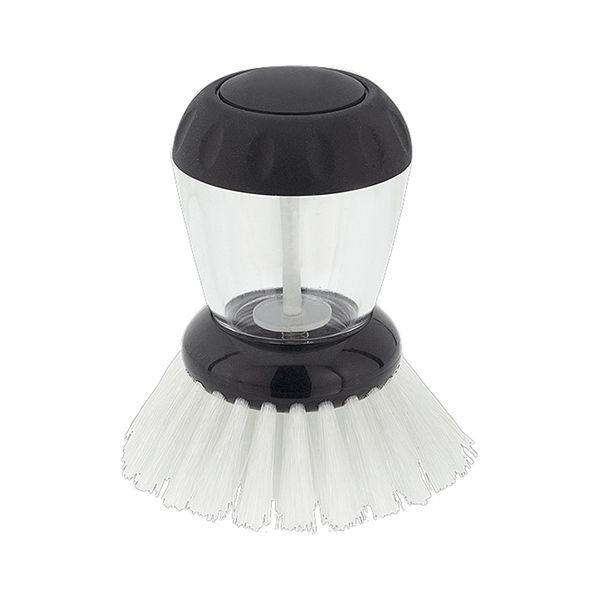 Judge Dish Brush with Washing Up Liquid Soap Dispenser