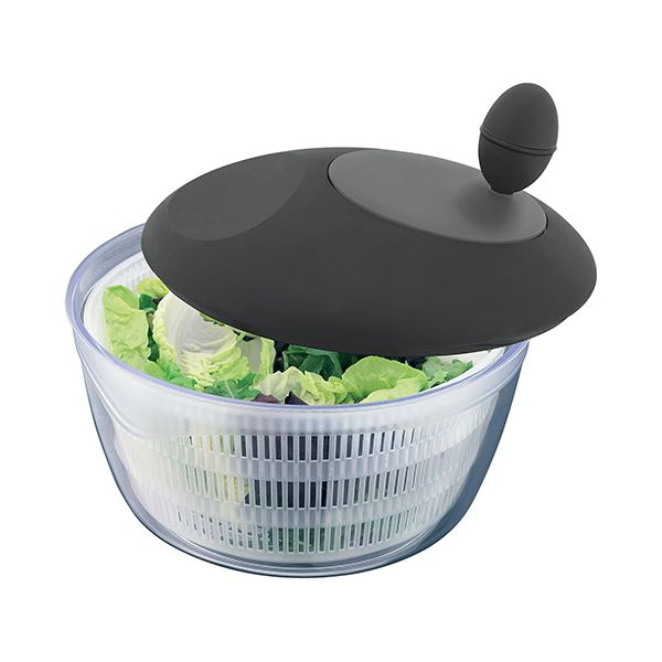 Judge Salad Spinner With Black & Grey Lid