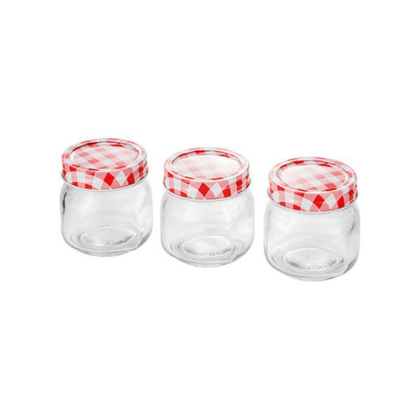 Judge 250ml Set Of 3 Preserving Jars