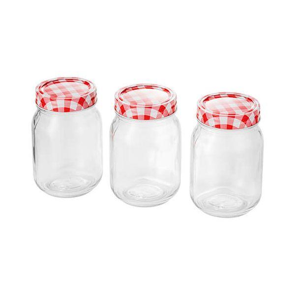 Judge 500ml Set Of 3 Preserving Jars