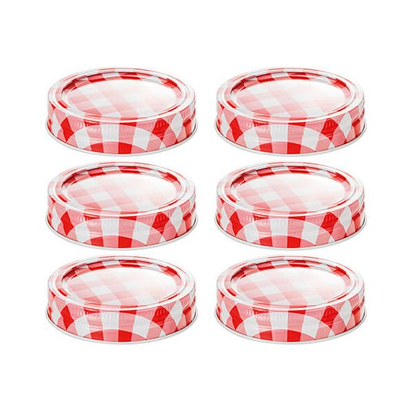 Judge Set Of 6 Preserving Jar Lids