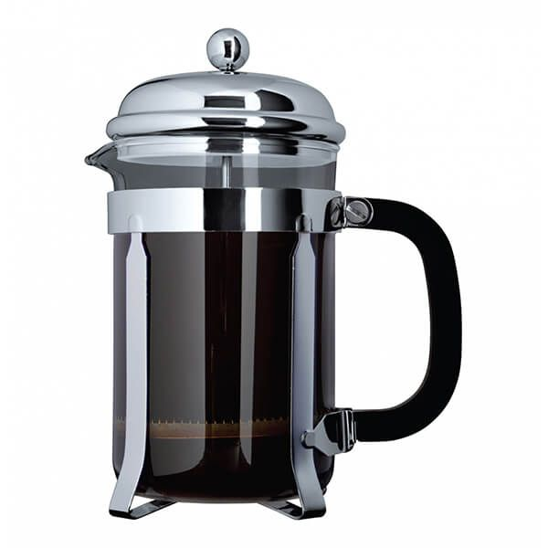 Grunwerg 6 Cup Cafe Ole Cafetiere Classic Chrome Finish