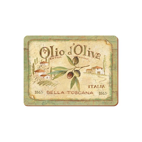 Olio D'Olivia Set Of 6 Table Mats