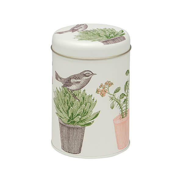 Thornback & Peel Cactus & Bird Round Caddy