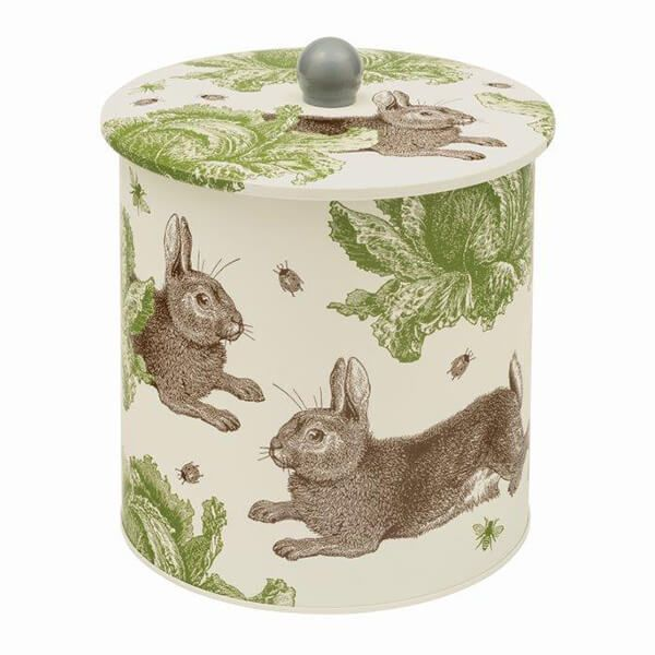 Thornback & Peel Rabbit & Cabbage Biscuit Barrel Tin