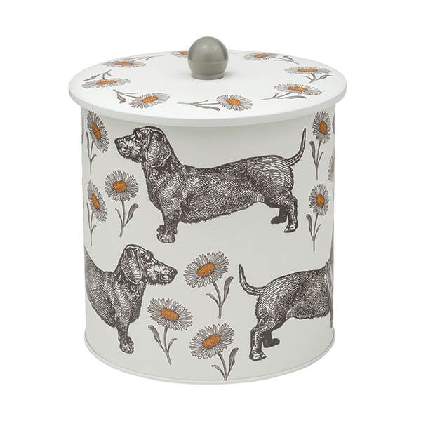 Thornback & Peel Dog & Daisy Biscuit Barrel