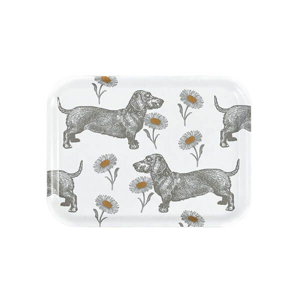 Thornback & Peel Dog & Daisy Small Rectangular Birch Tray