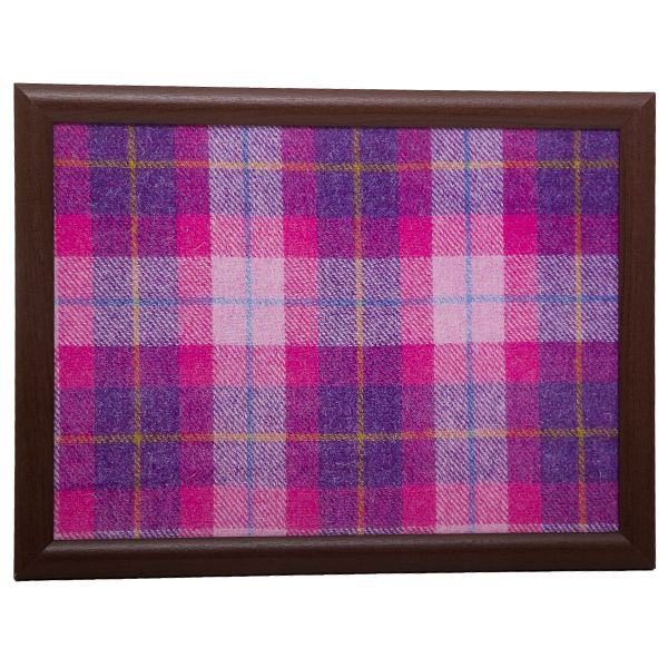 Country Matters Tweed Pink Laptray