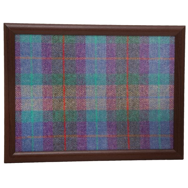 Country Matters Tweed Turquoise Laptray