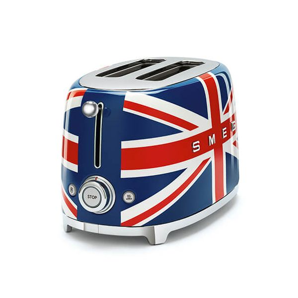 Smeg 2 Slice Toaster, Union Jack