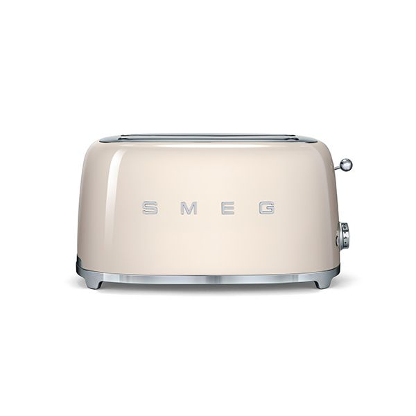 Smeg 4 Slice Toaster, Cream