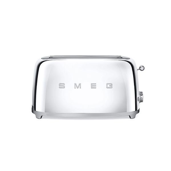 Smeg 4 Slice Toaster, Chrome