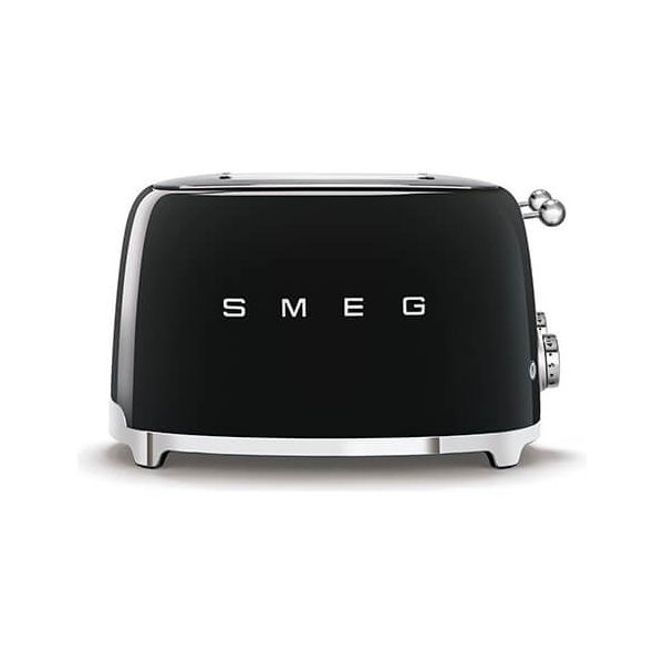 Smeg 4 x 4 Slice Toaster, Black