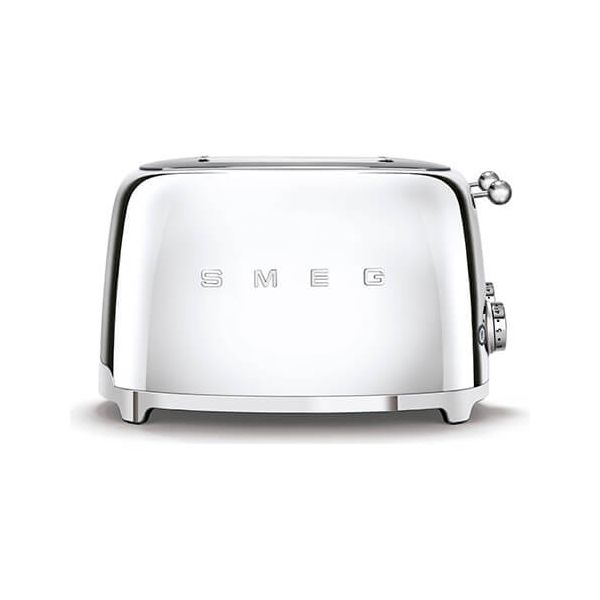Smeg 4 x 4 Slice Toaster, Chrome