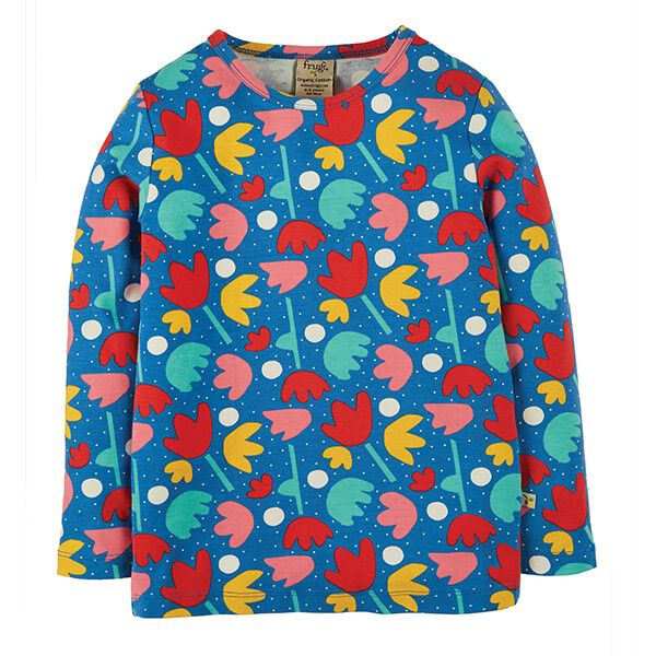 Frugi Organic Lotus Bloom Bryher Top