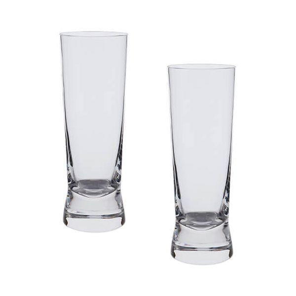 Dartington Bar Excellence Lead Crystal Set Of 2 Gin & Tonic Glasses