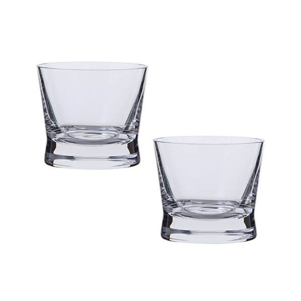 Dartington Bar Excellence Lead Crystal Set Of 2 Single Malt Glasses
