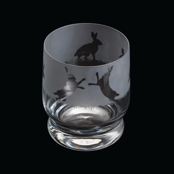 Dartington Aspect Tumbler Hare