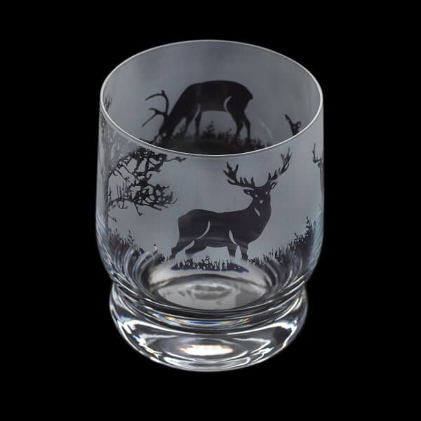Dartington Aspect Tumbler Stag