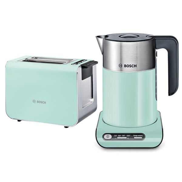 Bosch Styline Kettle & Toaster Set Turquoise