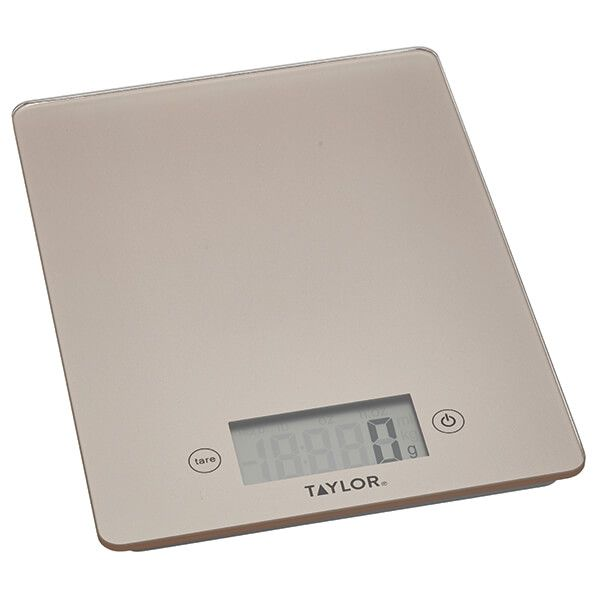 Taylor Pro Copper Glass 5kg Digital Kitchen Scale