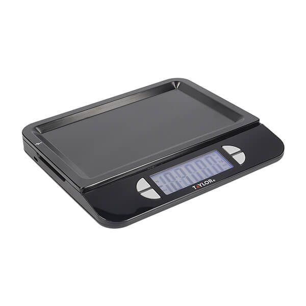 Taylor Pro Dual USB Rechargeable Digital Scale 5Kg (11lbs / 5 litres)