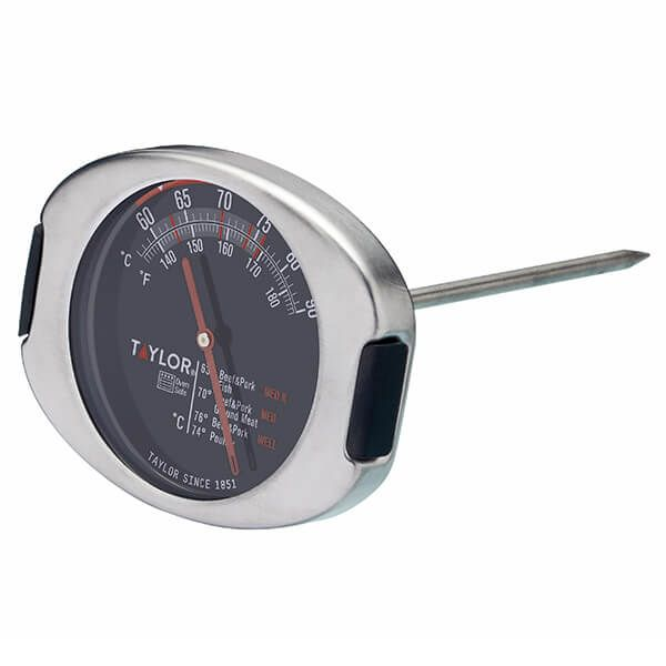 Taylor Pro Stainless Steel Leave-In Meat Thermometer