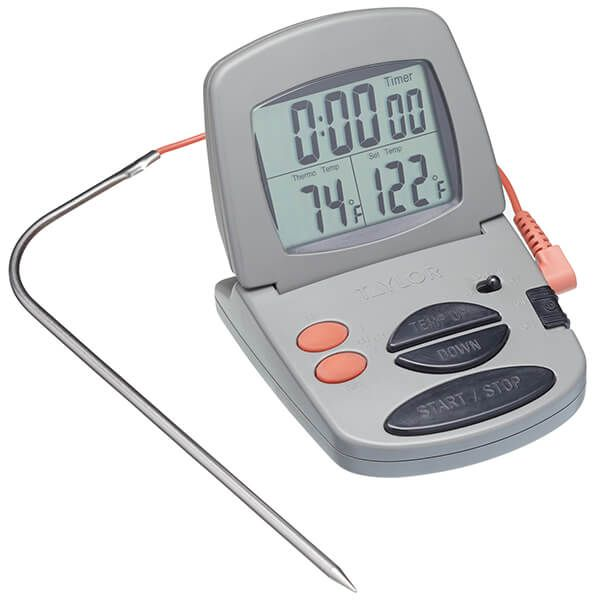 Taylor Pro Digital Probe Thermometer & Timer