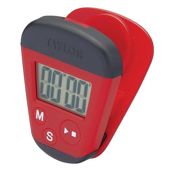Taylor Pro Kitchen Clip Digital Timer