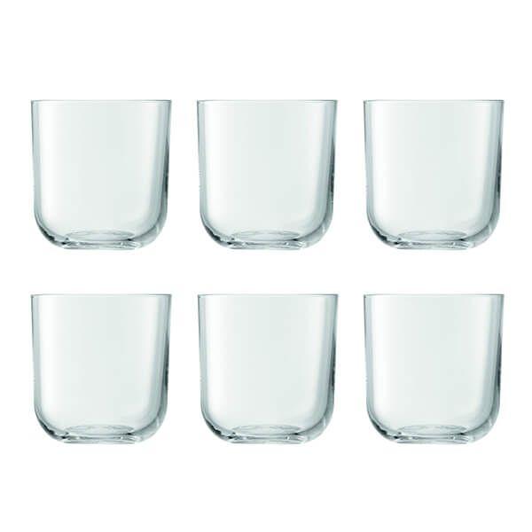 LSA Uno 420ml Tumbler Glasses, 6 for 4