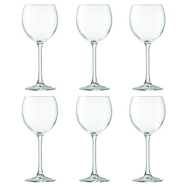 LSA Uno 400ml Wine Glasses, 6 for 4