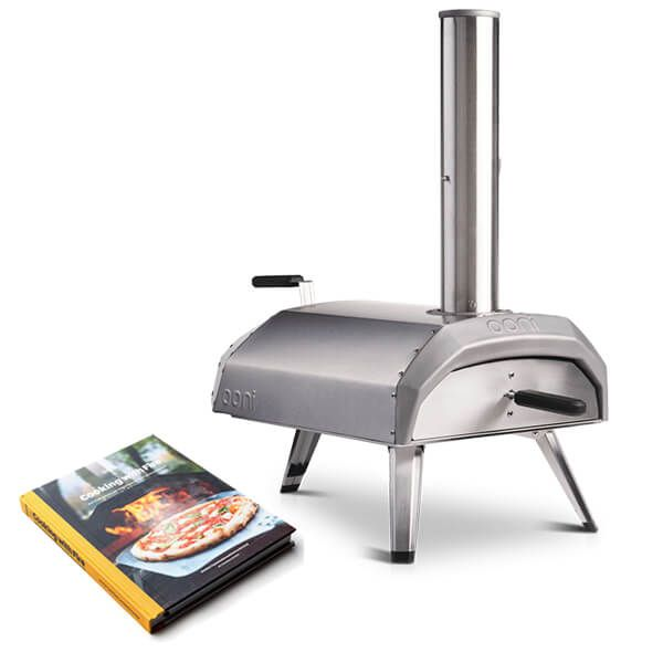 Ooni Karu Wood and Charcoal-Fired Portable Pizza Oven With Free Gift