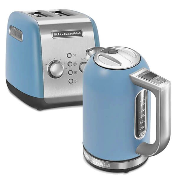 KitchenAid Velvet Blue Breakfast Set
