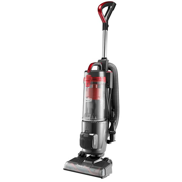 Beko Upright Deluxe Vacuum Cleaner Red