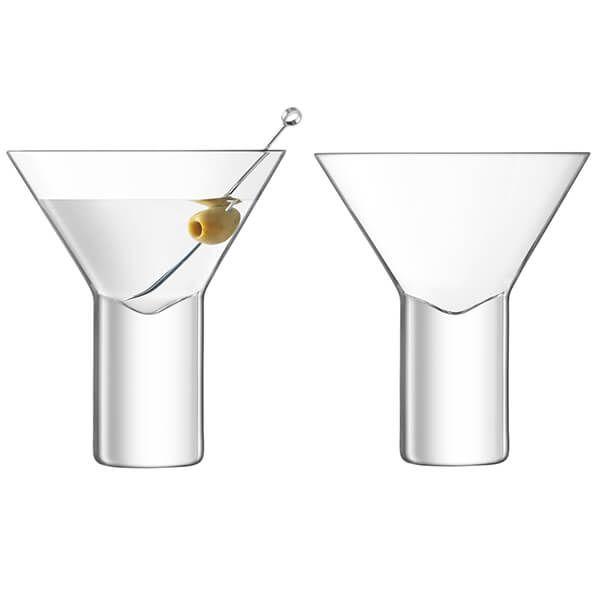 LSA Vodka Cocktail Glass 240ml Set Of 2