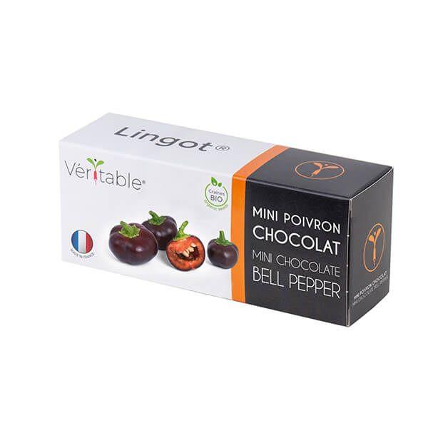 Veritable Organic Chocolate Mini Bell Pepper Lingot