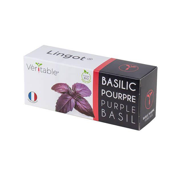 Veritable Organic Purple Basil Lingot
