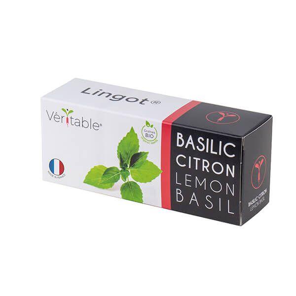 Veritable Organic Lemon Basil Lingot