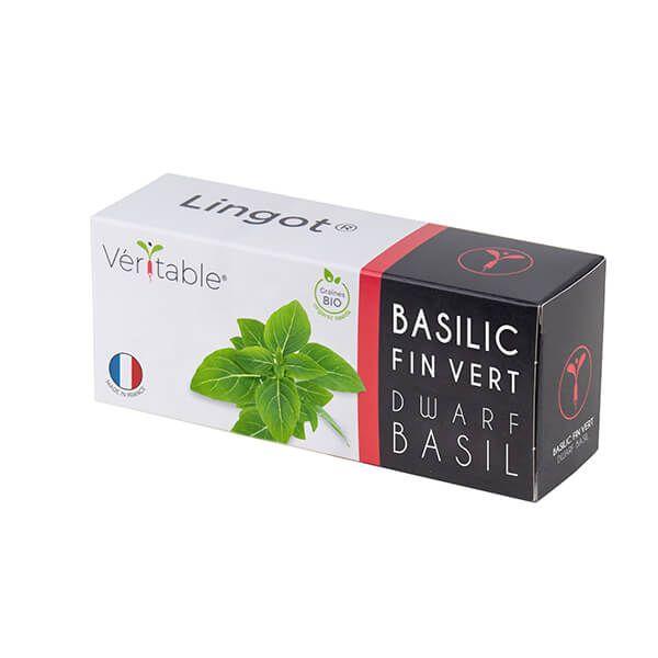 Veritable Organic Dwarf Basil Lingot