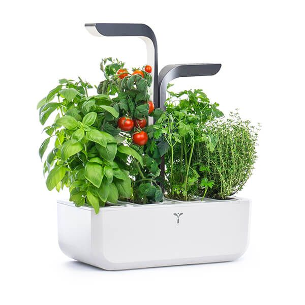 Veritable Infinity Grey Connect 4-Slot Indoor Garden