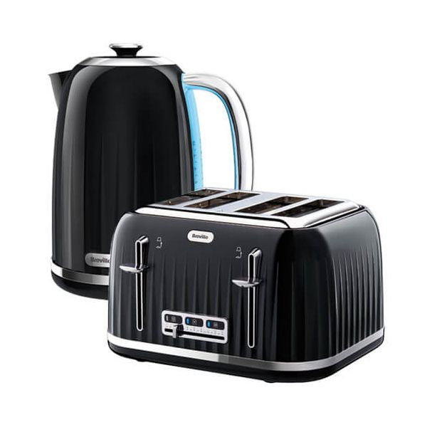 Breville Impressions Kettle & Toaster Set Black
