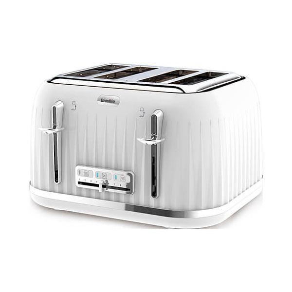 Breville Impressions 4 Slice Toaster White