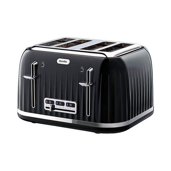 Breville Impressions 4 Slice Toaster Black