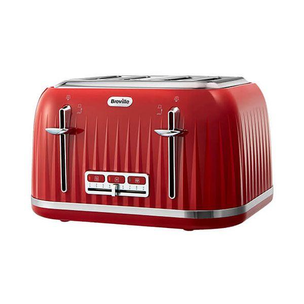 Breville Impressions 4 Slice Toaster Red
