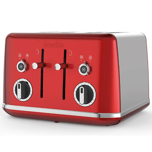 Breville Lustra Toaster Red